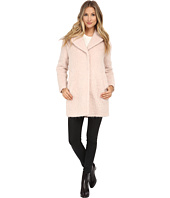 Cole Haan - Cocoon Coat with Knotch Collar