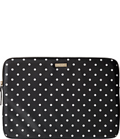 Kate Spade New York - Classic Nylon Mini Pavillion Dot Laptop Zip Sleeve with Back Pocket 15