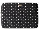 "Classic Nylon Mini Pavillion Dot Laptop Zip Sleeve with Back Pocket 15"" by Kate Spade New York"