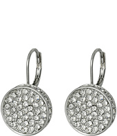 Vince Camuto - Circle Pave Lever Back Earrings
