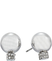 Vince Camuto - Pave Ball Stud w/ Cry Earrings