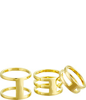 Vince Camuto - Four Piece Open Bar Ring Set