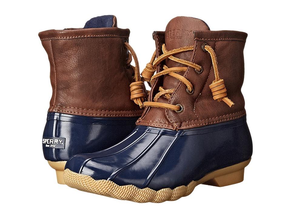 Sperry Top-Sider Saltwater Boot (Little Kid/Big Kid) (Nav...