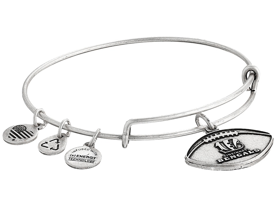 Alex and Ani - NFL Cincinnati Bengals Football Bangle