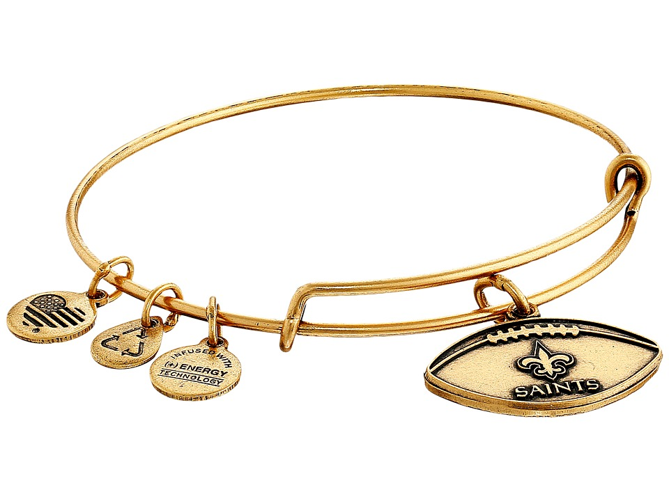 Alex and Ani - NFL New Orleans Saints Football Bangle
