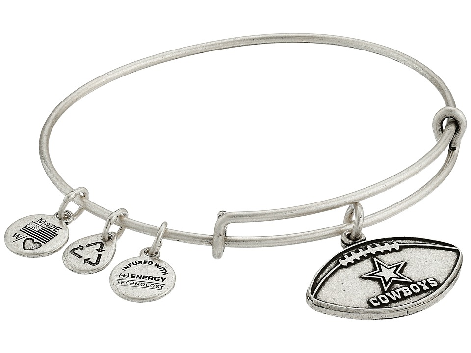 Alex and Ani - NFL Dallas Cowboys Football Charm Bangle