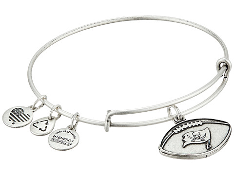 Alex and Ani NFL Tampa Bay Buccaneers Football Bangle - Rafaelian Silver