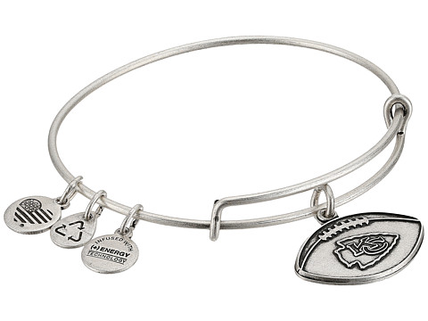 Alex and Ani NFL Kansas City Chiefs Football Bangle - Rafaelian Silver