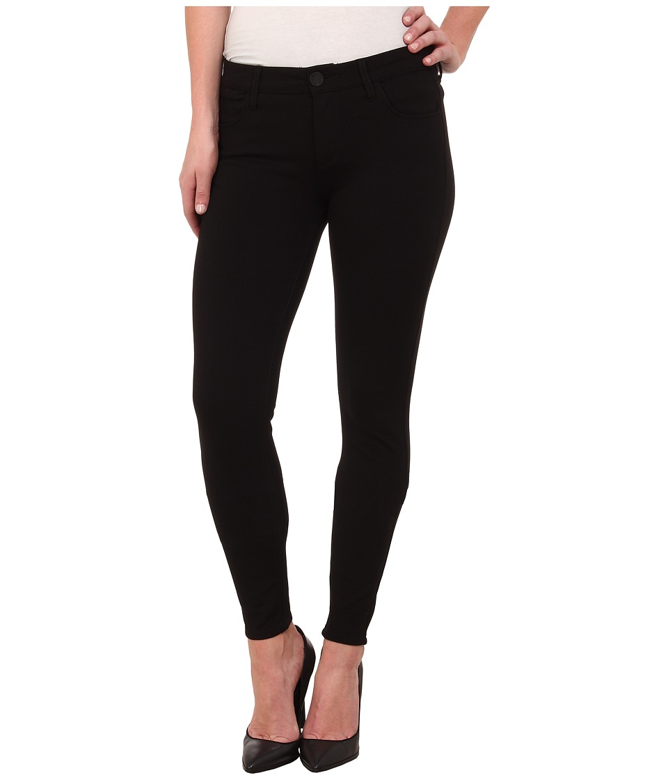 KUT from the Kloth - Mia Toothpick Skinny Ponte Pant in Black (Black) Womens Jeans