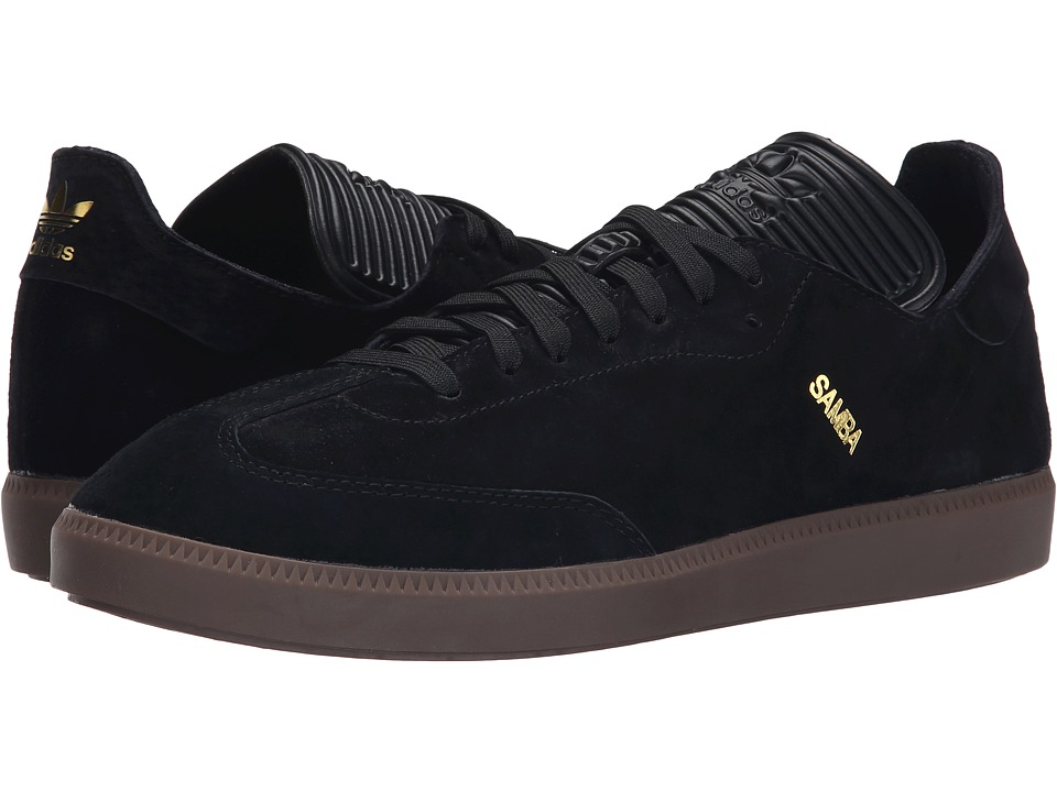 Samba MC Leather (Black/Black/Gold Metallic)