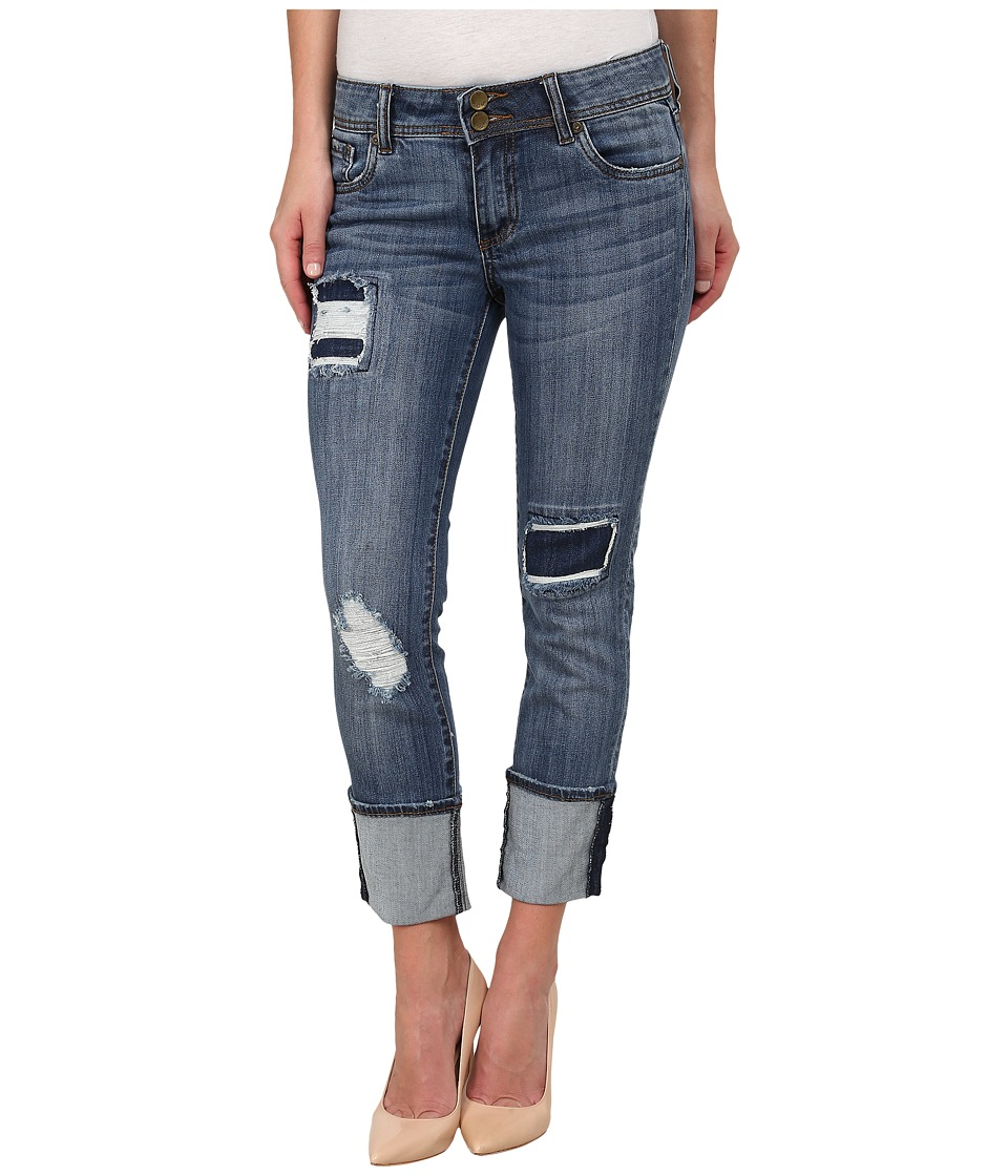 KUT from the Kloth Cameron Straight Leg Jeans in Extreme Extreme Womens Jeans