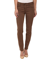 KUT from the Kloth - Diana Skinny Jeans in Dark Brown