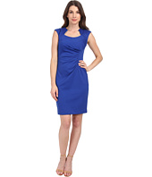Calvin Klein - Horse Show Neck Ponte Sheath Dress