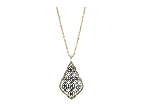 Kendra Scott Aiden Necklace - Mixed Gold/Gunmetal
