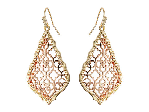 Kendra Scott Addie Earrings - Mixed Gold/Rose Gold