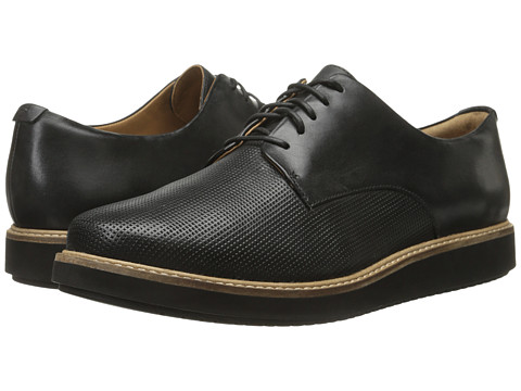 Clarks Glick Darby - Black Leather