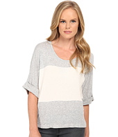 Splendid - Color Blocked Drapey Lux Pullover