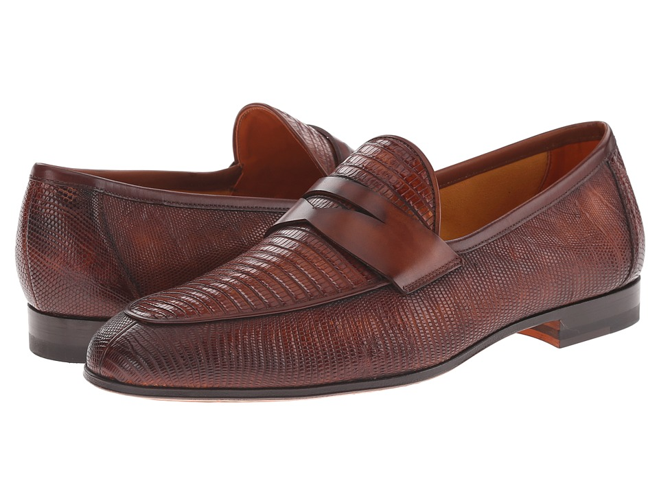 Magnanni Camerino (Cognac) Men's Slip-on Dress Shoes