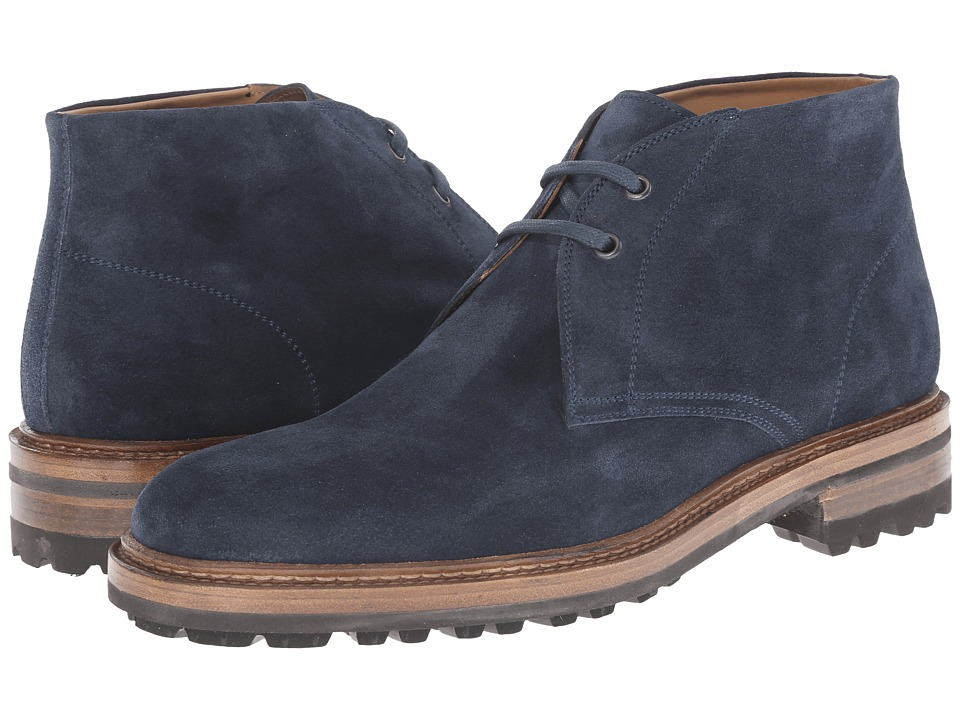 Magnanni Buler Navy Mens Lace up casual Shoes