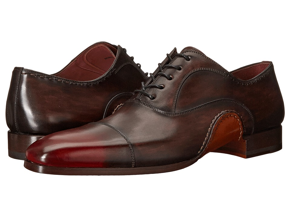 Magnanni Axel Brown Mens Lace Up Cap Toe Shoes