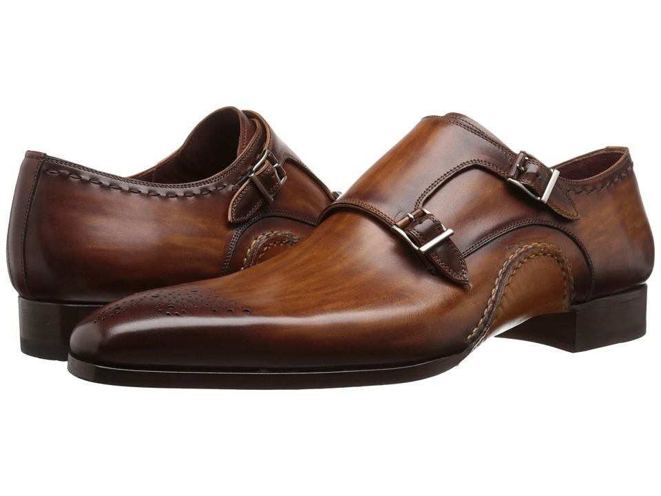 Magnanni Apolo Cuero Mens Monkstrap Shoes