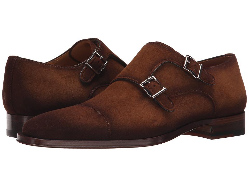 Magnanni Benetiz Cognac Mens Monkstrap Shoes