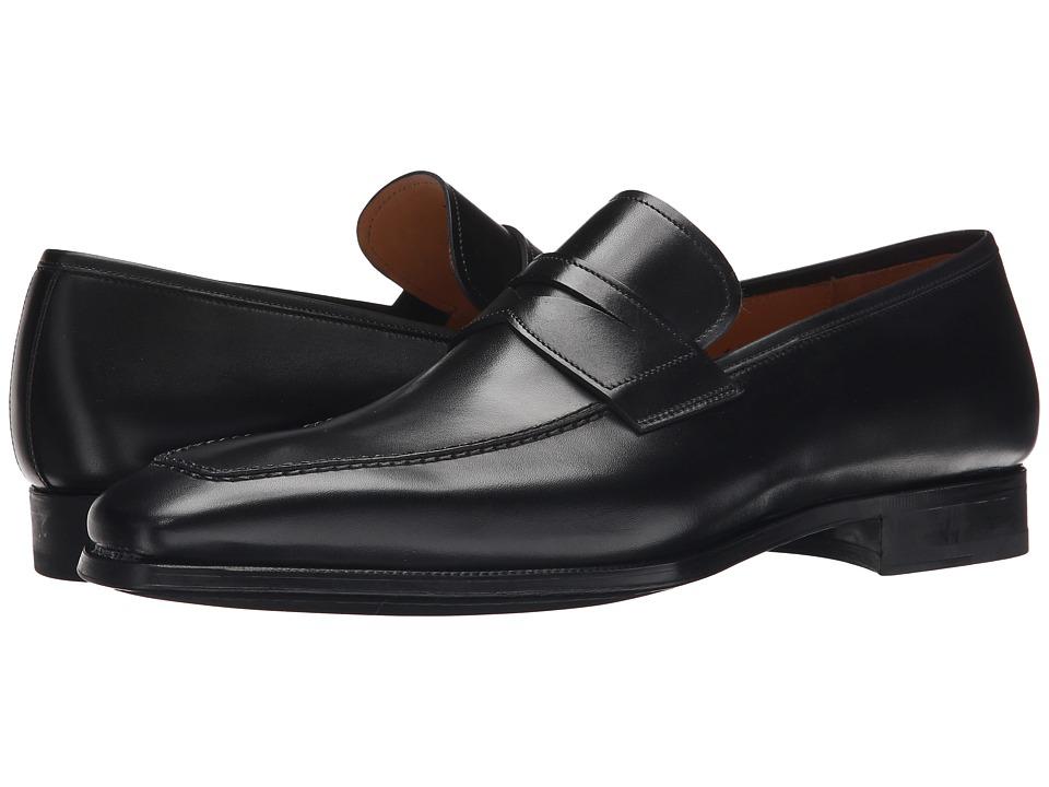 Magnanni Rigo (Black) Men's Slip-on Dress Shoes
