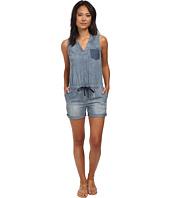 DKNY Jeans - Denim Romper in Medium Indigo