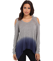 DKNY Jeans - Dip Dye Cold Shoulder Sweater