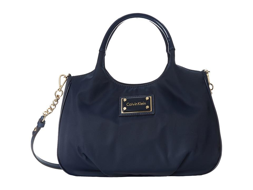 Calvin Klein - Nylon Shopper (Navy) Handbags