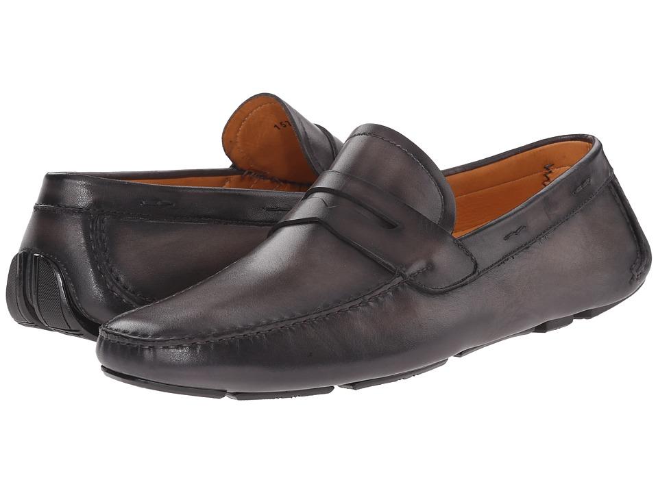 Magnanni - Dylan (Grey) Mens Slip on  Shoes