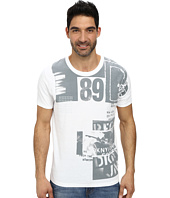 DKNY Jeans - Short Sleeve Rock Collage Crew Neck Premium Tee