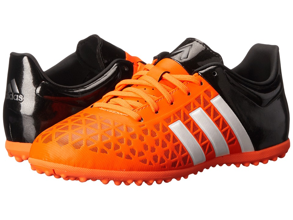 adidas Kids Ace 15.3 TF Soccer Little Kid/Big Kid Solar Orange/White/Core Black Kids Shoes