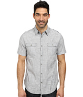 DKNY Jeans - Short Sleeve Cotton Slub Shirt - Casual Wash