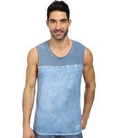 DKNY Jeans - 50/50 + Solid Jersey Pieced Muscle Tank Top