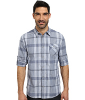 DKNY Jeans - Long Sleeve Space Dye Plaid Shirt - City Press