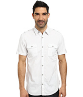 DKNY Jeans - Short Sleeve Honeycomb Dobby Shirt - Casual Wash