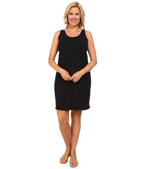 Fresh Produce - Plus Size Sunshade Dress (Black) Women's Dress