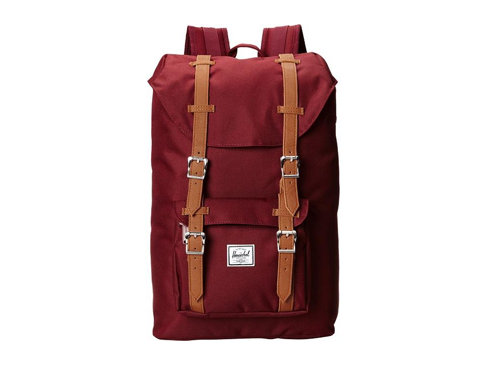 Herschel Supply Co. - Little America Mid-Volume (Windsor Wine) Backpack Bags