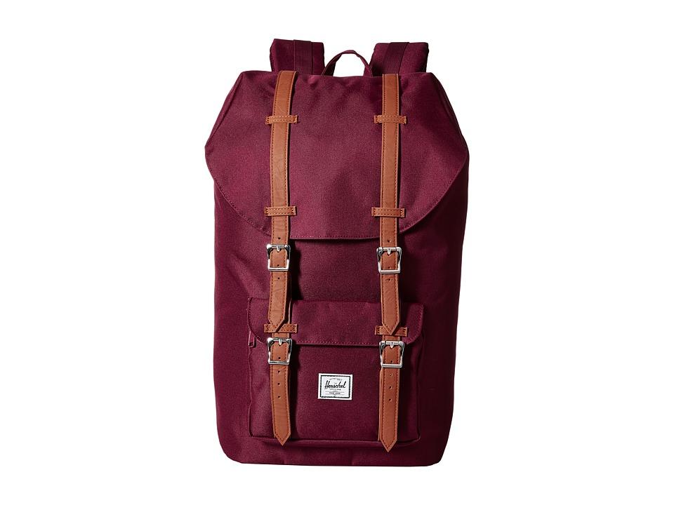 Herschel Supply Co. - Little America (Windsor Wine) Backpack Bags