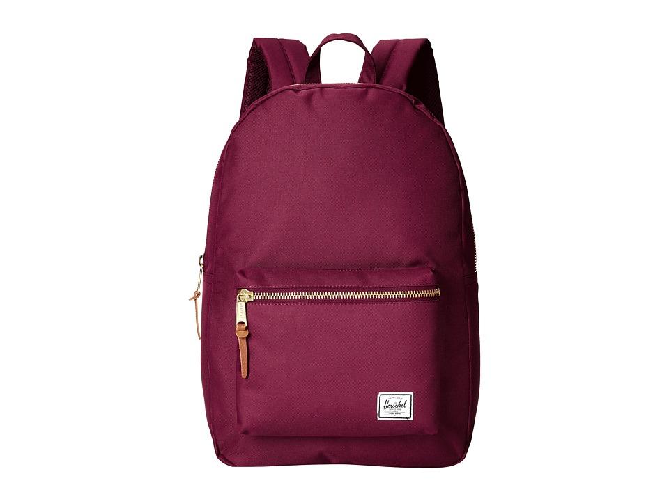 Herschel Supply Co. - Settlement (Windsor Wine) Backpack Bags