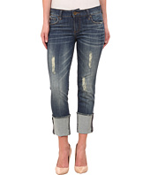 KUT from the Kloth - Cameron Straight Leg Boyfriend Jeans in Audacity