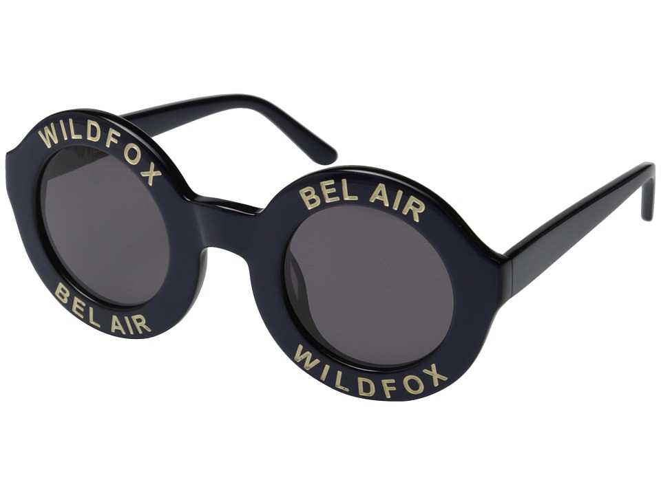 Wildfox Bel Air Navy Blue/Grey Sun Plastic Frame Fashion Sunglasses
