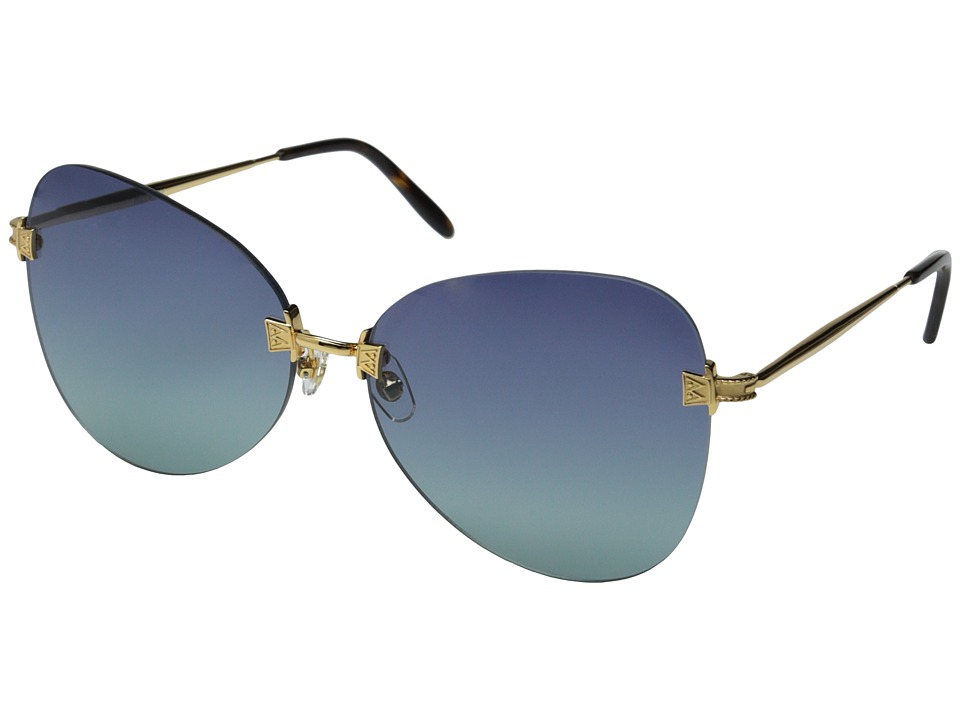 Wildfox Madame Gold/Multi Gradient Fashion Sunglasses