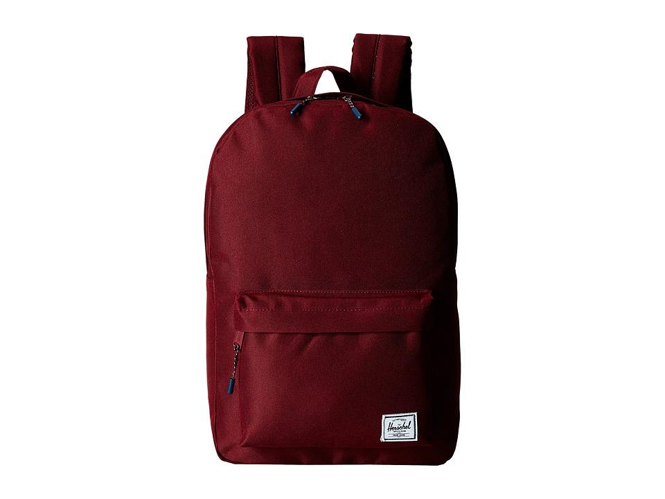 Herschel Supply Co. Classic Mid Volume Windsor Wine Backpack Bags