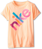 Nike Kids - Lightweight Dri Fit GFX Short Sleeve Top (Little Kids)