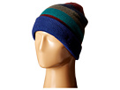 French Connection Best Felted Knit Hat (Blue Depths/Rhododendron)