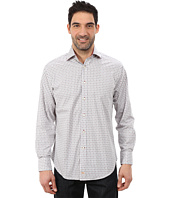 Thomas Dean & Co. - Long Sleeve Woven Soft Check w/ Dobby