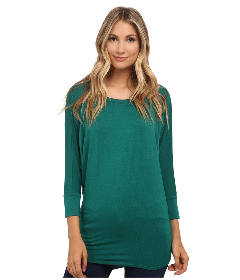 Culture Phit Lara Modal Top (Emerald) Women
