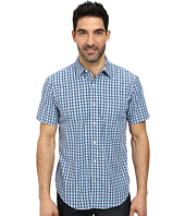 Nautica - Short Sleeve Poplin Large Plaid